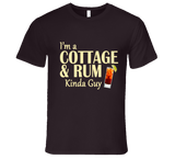 Cottage and Rum Kinda Guy T Shirt - Original James Tee  - 3