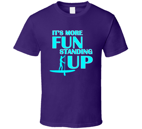 It's More Fun Standing Up T Shirt - Original James Tee  - 1
