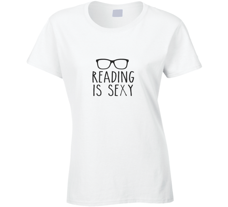 Reading is Sexy T Shirt - Original James Tee  - 1