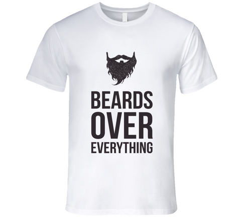 Beards Over Everything T shirt - Original James Tee  - 1