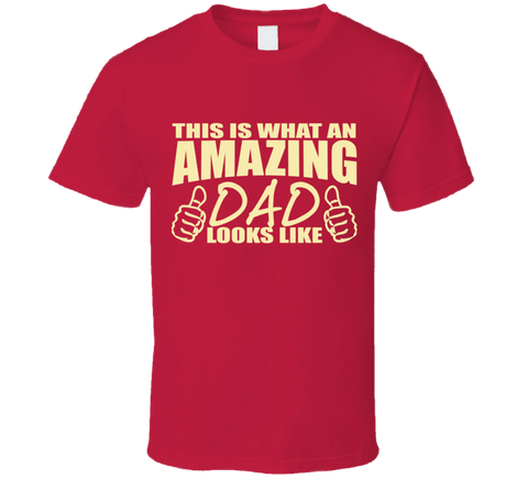 0eadd5b0 ... Amazing Dad T Shirt Awesome Dad T Shirt fathers day birthday gift for  dad papa ...