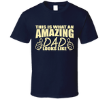Amazing Dad T Shirt  Awesome Dad T Shirt fathers day birthday gift for dad papa - Original James Tee