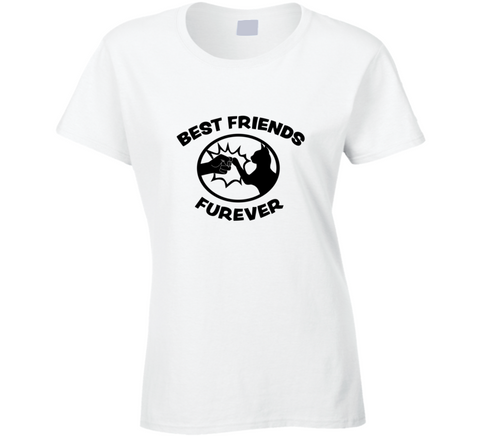 Best Friends Furever Crazy Cat Lady T Shirt - Original James Tee