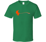 Leprechaun pooping a rainbow funny Irish Green drinking Party St. Patrick's day T shirt - Original James Tee