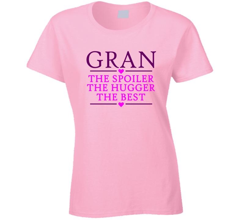Gran the Spoiler the Hugger the Best T Shirt - Original James Tee  - 1