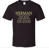 Man Myth Legend T Shirt Personalized - Original James Tee  - 2