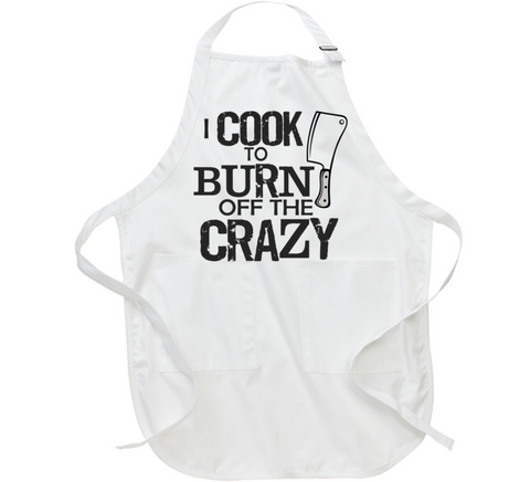 I Cook to Burn Off the Crazy Apron - Original James Tee