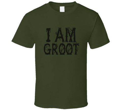 I am Groot T Shirt - Original James Tee