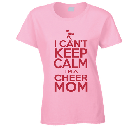 Cheer Mom T Shirt - Original James Tee