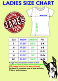 I Only Care About My Dogs Ladies T Shirt - Original James Tee  - 3
