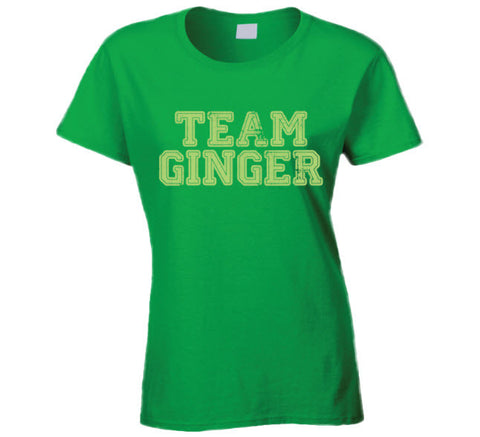 Team Ginger Irish Drinking St. Patrick's day Funny T Shirt - Original James Tee