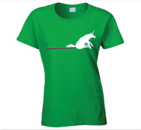 Unicorn and Rainbow T Shirt - Original James Tee  - 1