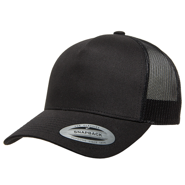 SnapBack Trucker Patch - Black