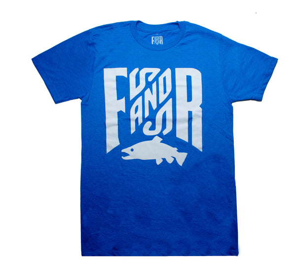 FNR T-Shirt - Blue, Chandail FNR - Bleu