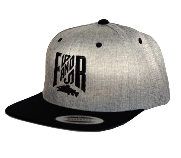 Original SnapBack - 2 Tones Black/Grey