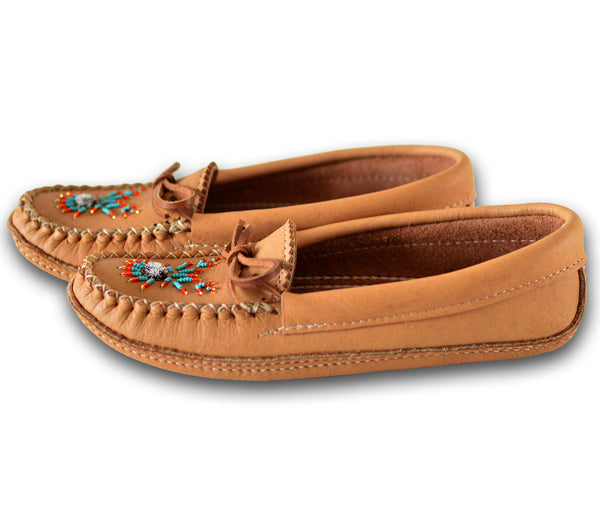Genuine Leather Moccasin - Women