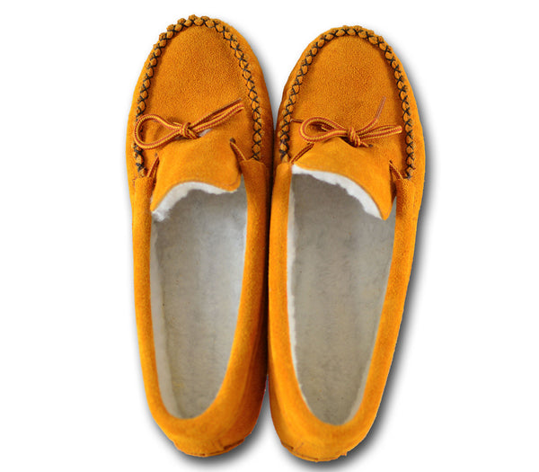 Genuine Lined Moccasin