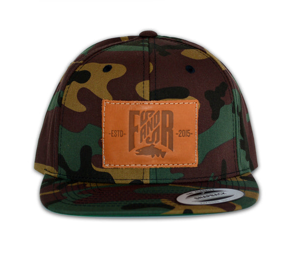 SnapBack Leather - Camo, Casquette SnapBack, Camouflage