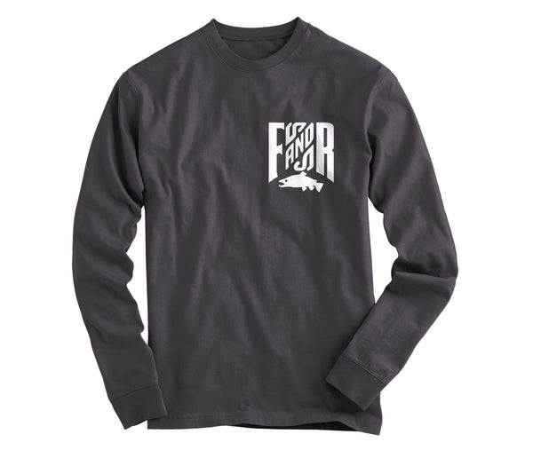 Crew Member Long Sleeve - Charcoal