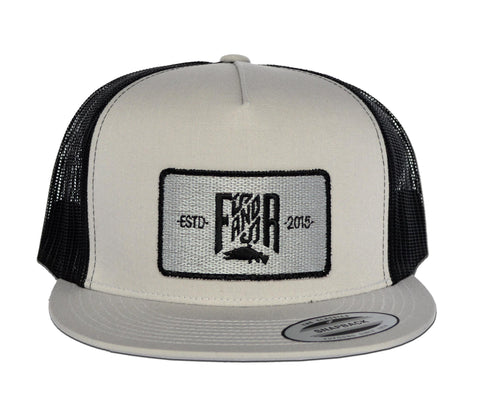 SnapBack Patch - Grey/Black