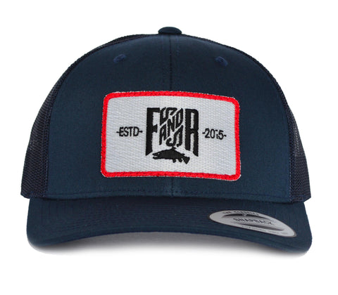 SnapBack Trucker Patch - Navy