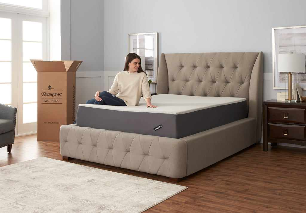 "Beautyrest MIAB Lifestyle Gel 12"" Mattress"