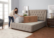 "Beautyrest MIAB Lifestyle Gel 8"" Mattress Rolling Out"