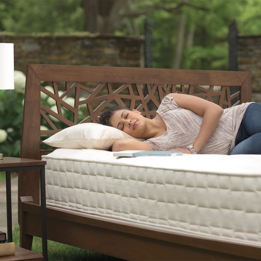 Naturepedic Extra Firm exclusively at Luxurious Beds and Linens in Canada