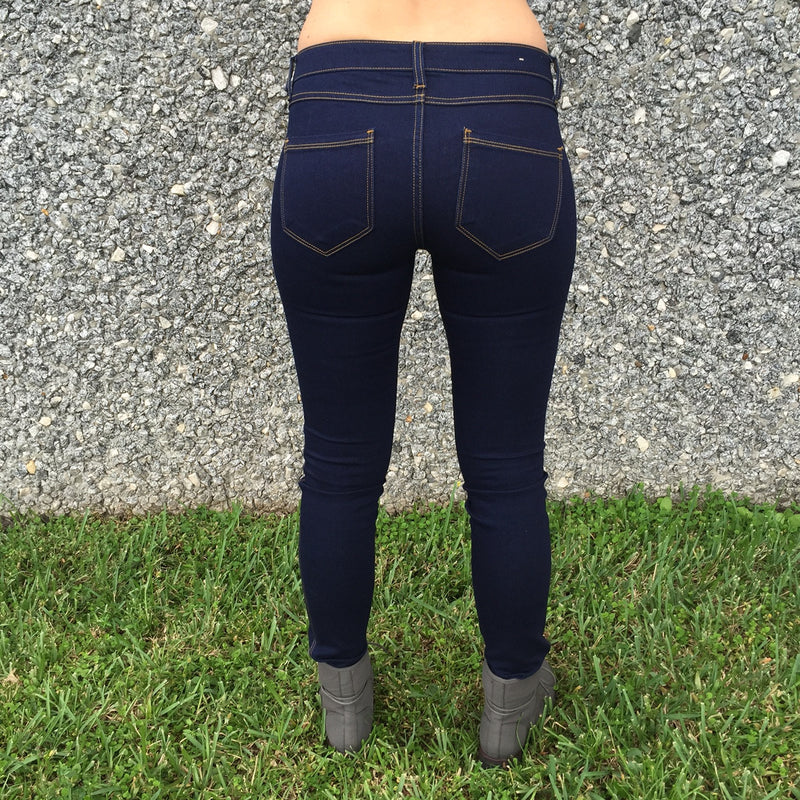 Bottoms - Dark Night Jeggings