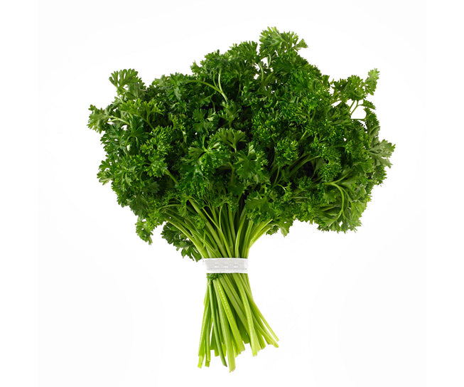 organic english parsley bunch ooooby quickshop