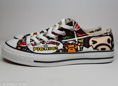 A Bathing Ape Baby Milo All Over Print Ape Sta's - RSRV - 5