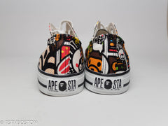 A Bathing Ape Baby Milo All Over Print Ape Sta's - RSRV - 6