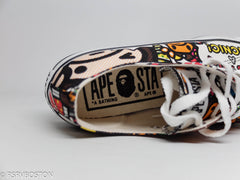 A Bathing Ape Baby Milo All Over Print Ape Sta's - RSRV - 8