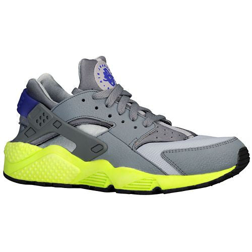 Nike Air Huarache Wolf Grey/ Volt/ Dark Concord/ Cool Grey - RSRV