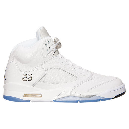 Nike Air Jordan Retro 5 White/ Black/ Metallic Silver - RSRV