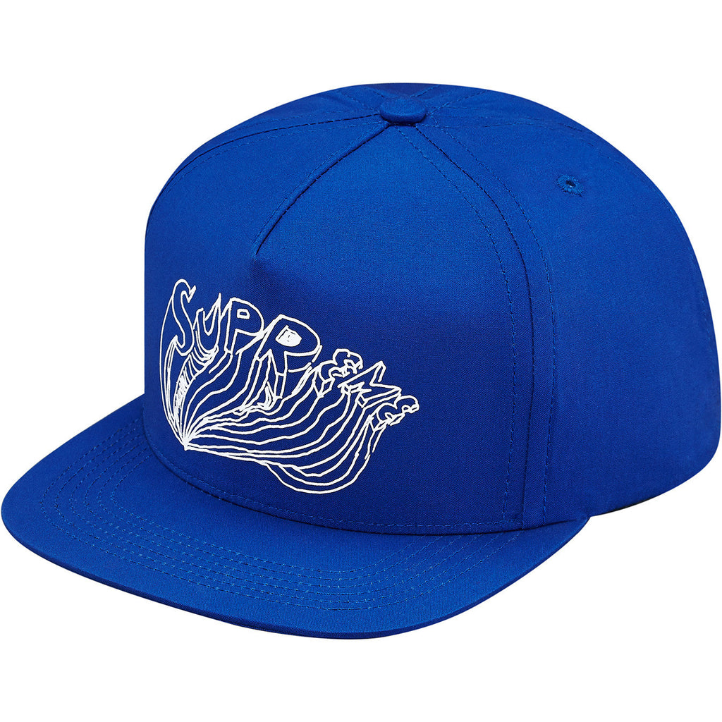 Supreme Daniel Johnston Logo 5 Panel Snapback Royal SS15 - RSRV