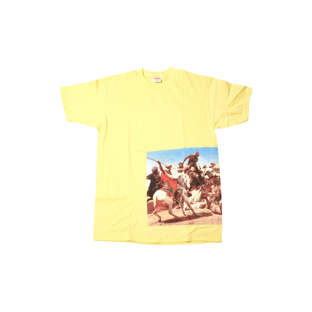Supreme Lead or Follow T Shirt Yellow SS12 - RSRV - 1
