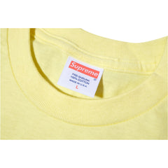 Supreme Lead or Follow T Shirt Yellow SS12 - RSRV - 3