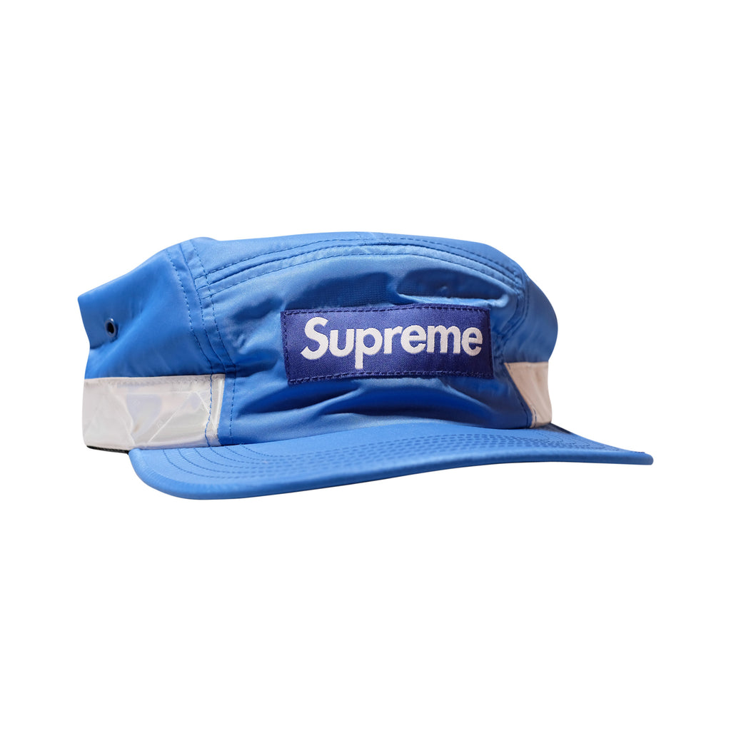 Supreme Reflective Stripe 5 Panel Camp Cap Blue SS14 - RSRV - 1