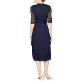RM Richards Women's Lace Bolero Jacket Dress-Mother of the Bride Wedding Dresses