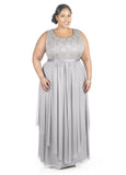 R&M Richards Women's Plus Size Formal Jacket Dress - Mother of the Bride Dress - SleekTrends - 4