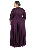 R&M Richards Women's Plus Size Formal Jacket Dress - Mother of the Bride Dress