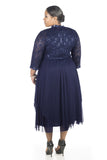 RM Richards Women's Plus Size Sequin Lace Jacket Dress - Mother of The Bride Wedding Dresses - SleekTrends - 3