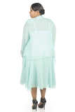 R&M Richards Women's Plus Size Beaded Jacket Dress - Mother of the Bride Dresses - SleekTrends - 2