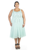 R&M Richards Women's Plus Size Beaded Jacket Dress - Mother of the Bride Dresses - SleekTrends - 3
