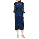 RM Richards Women's Sequin Lace Dress with Jacket-Mother of the Bride Dresses