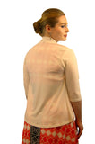 SleekTrends Womens 3/4 Sleeve Cascading Long Back Bolero Jacket