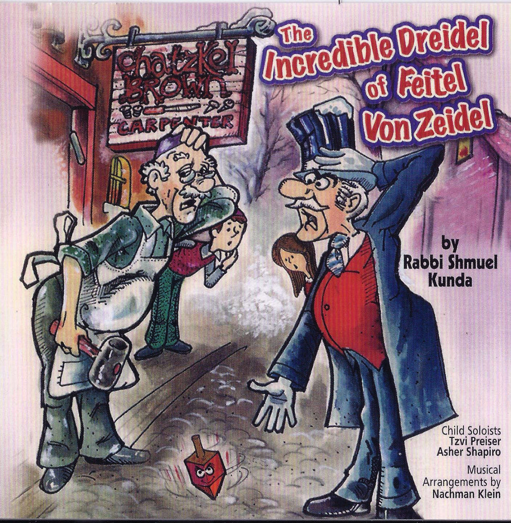 The Incredible Dreidel Of Feitel Von Zeidle download