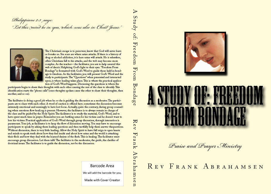 A Study of Freedom From Bondage..........eBook