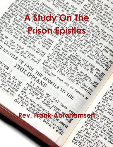A Study on the Prison Epistles..........eBook